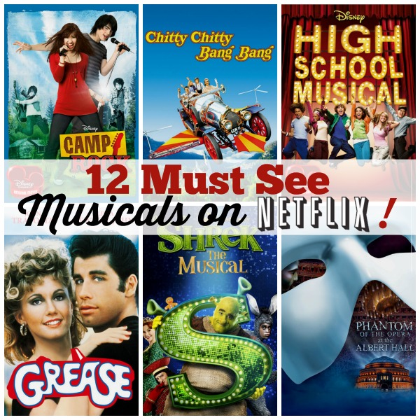 12 Must See Musicals on Netflix