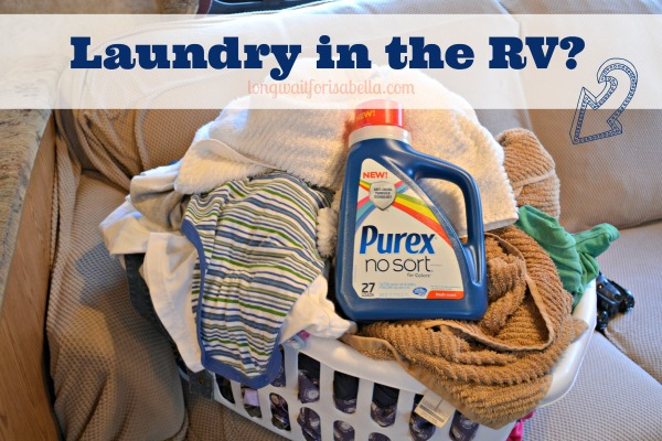 Laundry in the RV? #RVLife #Giveaway