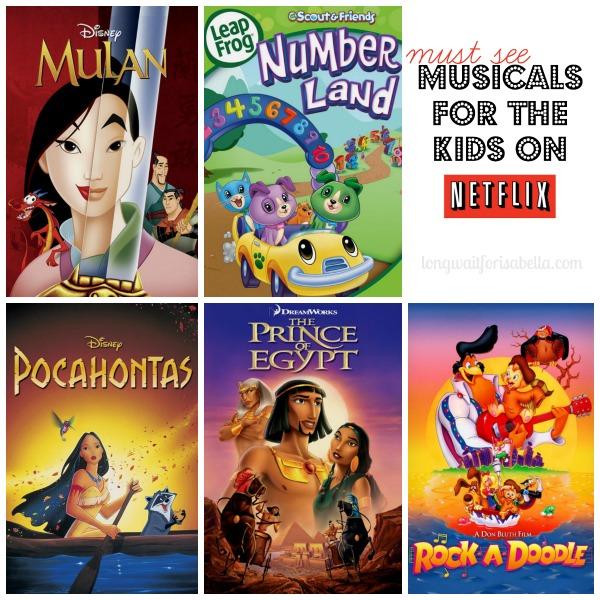 kids musicals on netflix
