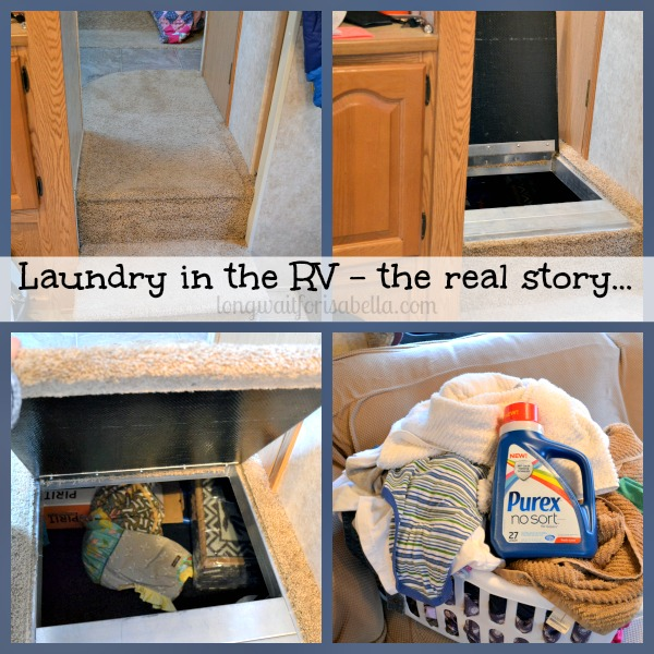 laundry in the rv