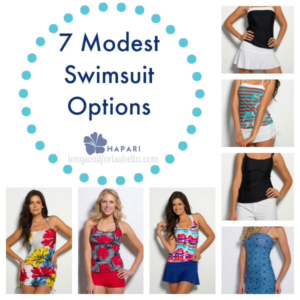 7 Modest Swimsuits for Women