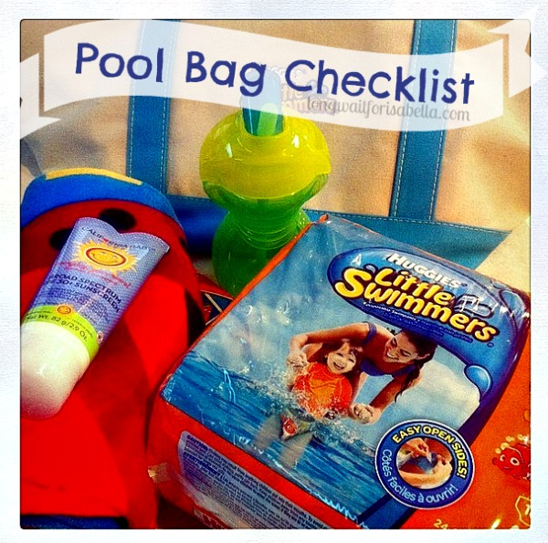 Pool Bag Checklist