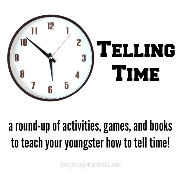 Homeschool Kindergarten: Telling Time