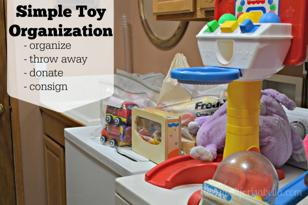 Putting Kids to Work: Simple Toy Organization