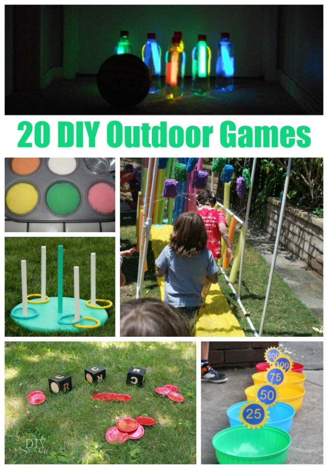 20 diy outdoor games and quaker chewy bars
