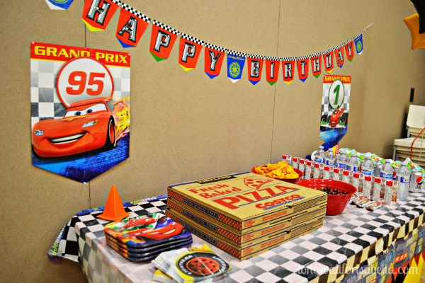 He's Two! Cars Birthday Party