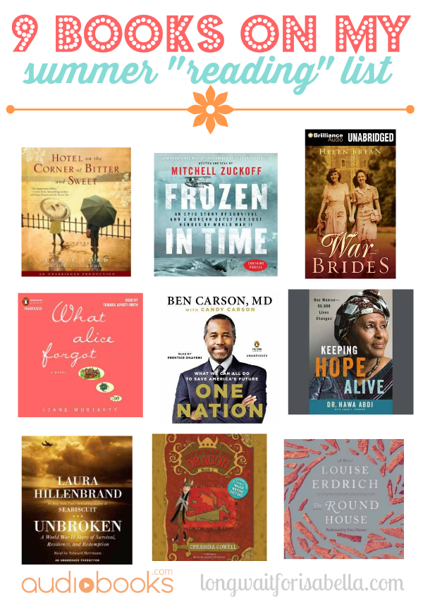 9 Books on My List This Summer