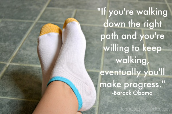 walking quote
