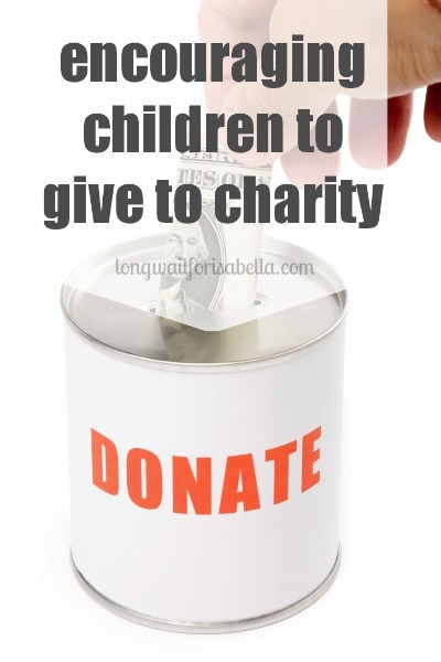 Ways to Encourage Children to Give to Charity