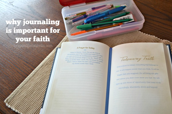 Why Journaling is Important to Your Faith