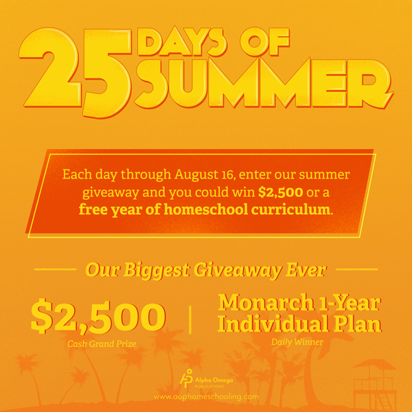Monarch Individual Plans Giveaway