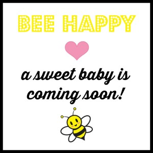 Baby Bee Gift Tag