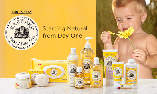 burts bees baby bee products