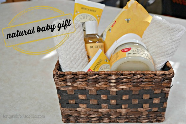 Natural Baby Gift Ideas #BabyBee