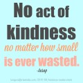 Because Kindness Matters