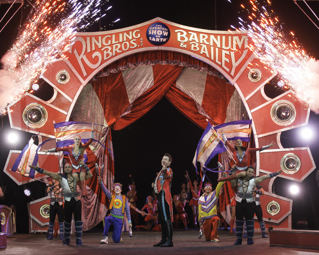 Ringling Bros. Super Circus Heroes Show #Seattle