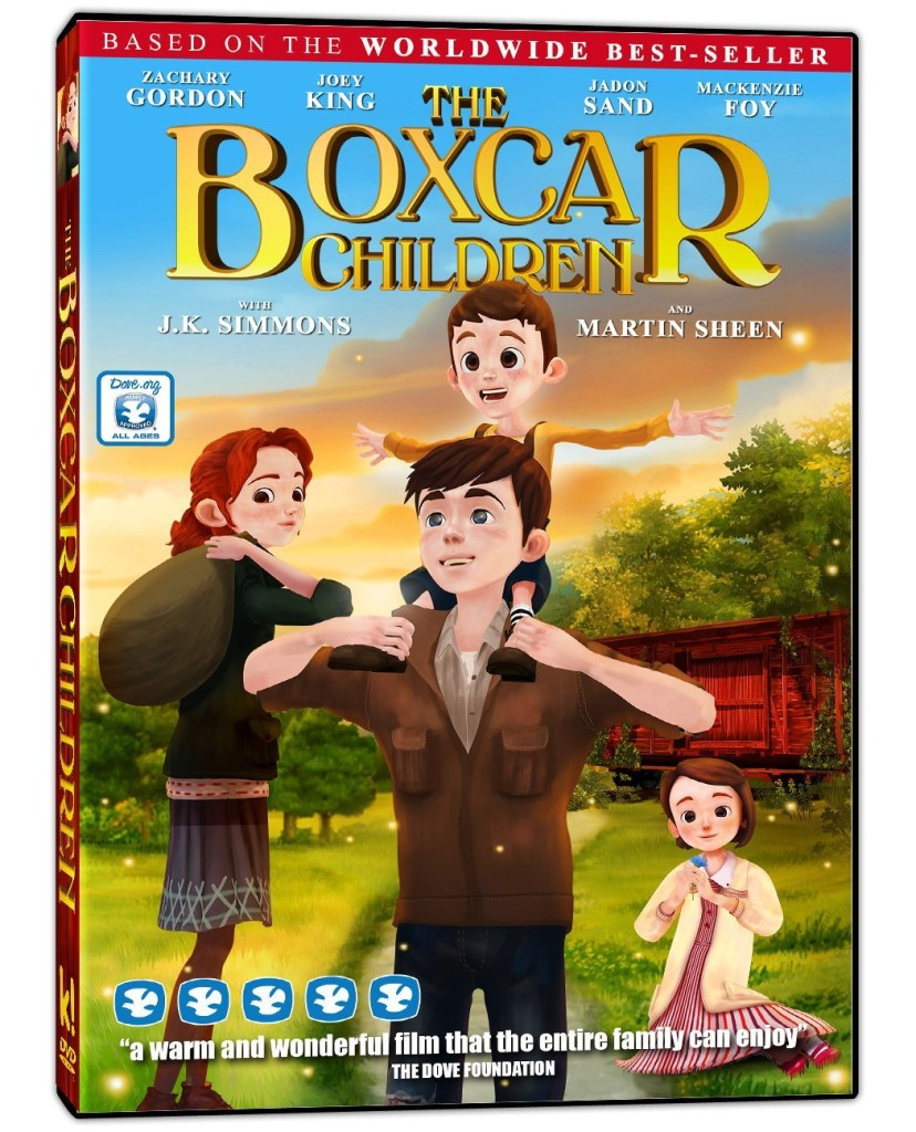 The Boxcar Children on DVD