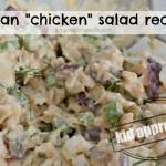 Vegan Chickpea Chicken Salad Recipe