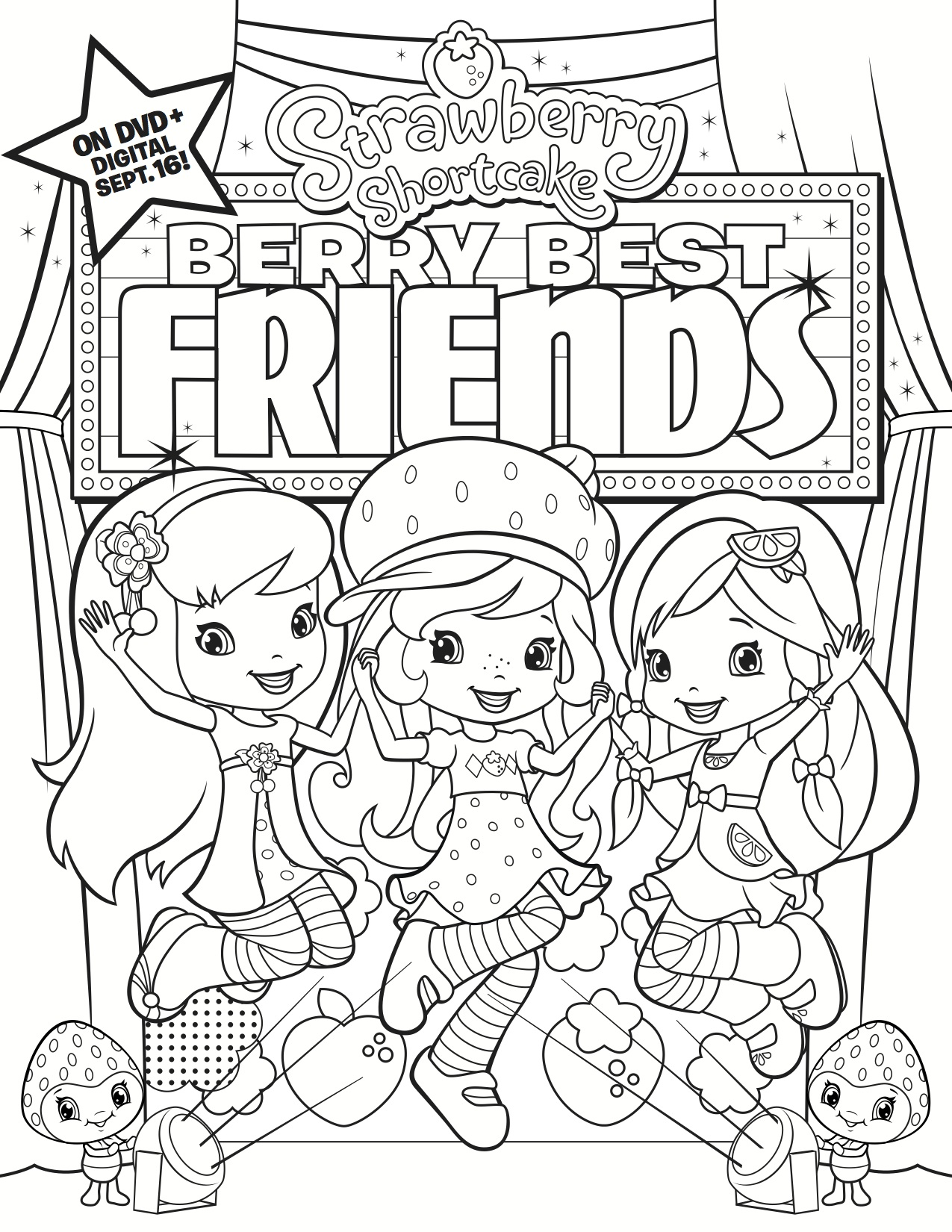 shopkin doll coloring pages - photo#30