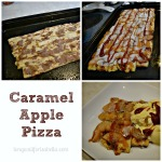 Caramel Apple Pizza for Family Movie Night