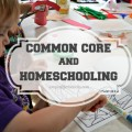 Common Core and Homeschooling