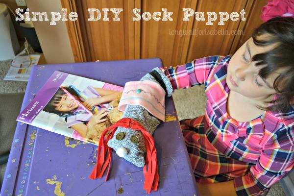diy sock puppet