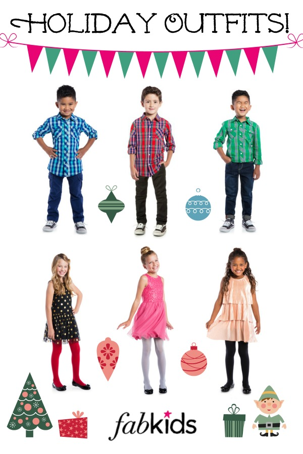 kids holiday outfits