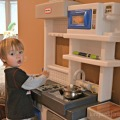 Little Tikes Kitchen for Kids #TeamLittleTikes