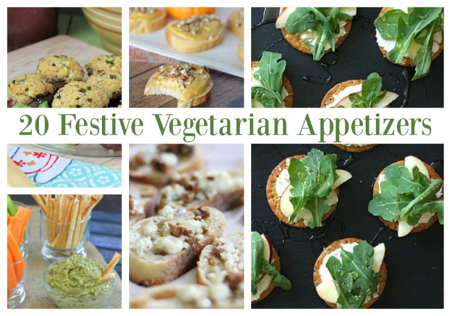 Appealing and Festive Vegetarian Appetizers