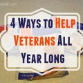 4 Ways to Help Veterans All Year Long #ThankaVeteran #KatysGoodness