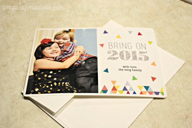 Ran out of Christmas Cards? Print out Happy New Year Cards!