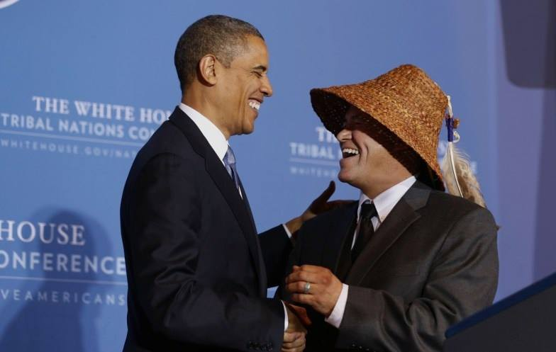 obama and cladoosby
