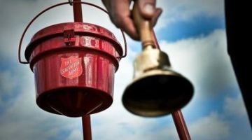 Don't forget to support the Salvation Army!