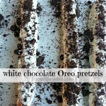 White Chocolate Oreo Pretzels Recipe