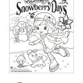 Winter Fun with Strawberry Shortcake