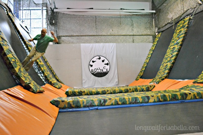 bounce indoor trampoline park