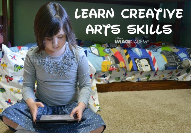 creative arts skills