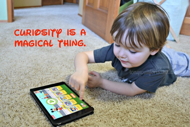 Inspire Kids to Learn (with technology!)