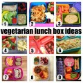 Elementary School Vegetarian Lunch Box Ideas