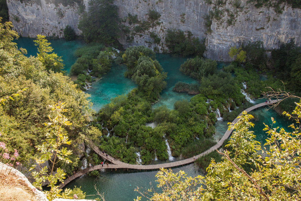 4.	Plitvice Lakes National Park
