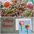 Spring Lollipop Flowers (and a great Easter Basket Idea!)