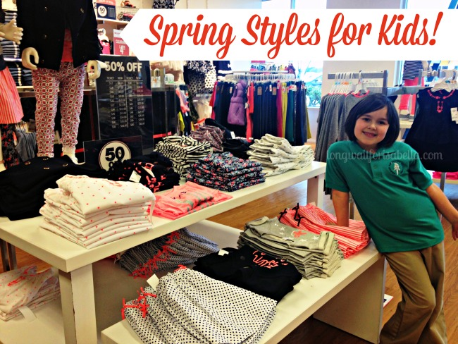 Spring Styles for Kids