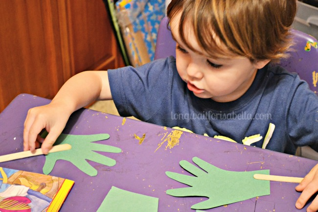 Toddler Handprint Craft
