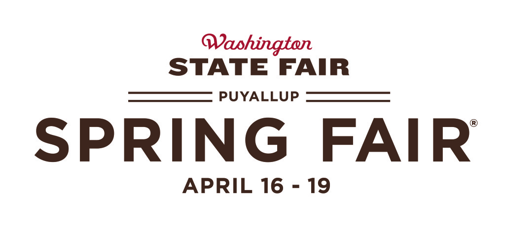 Wash State Spring Fair logo - horizontal