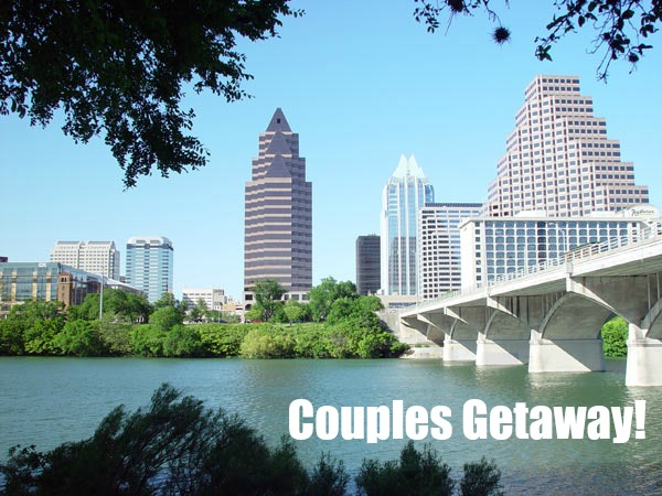 Our first getaway for two is planned for Couples long weekend getaway