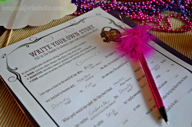 ever after high mad libs