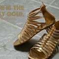 Gold Sandals: 3 Ways (Girl's Spring Fashion)