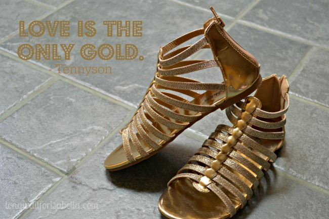 gold quote tennyson