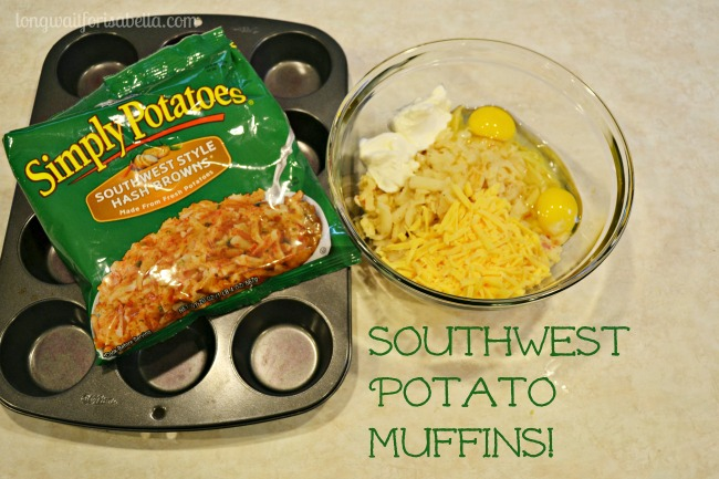 Breakfast or Brunch? Southwest Potato Muffins