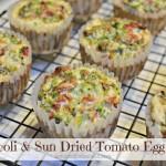 Broccoli Sun Dried Tomato Egg Cups Recipe